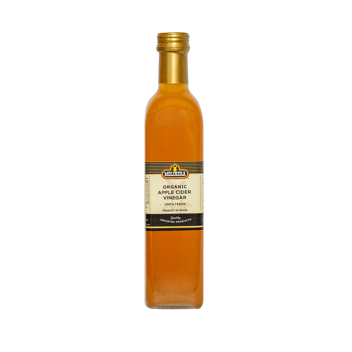 Molinera Organic Apple Cider Vinegar (Unfiltered)