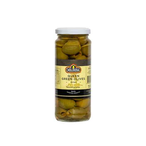 Molinera Green Olives Queen (Pitted)