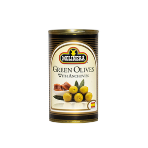 Molinera Green Olives Stuffed w/ Anchovy