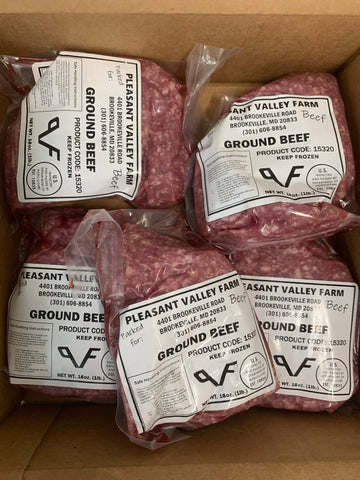Pleasant Valley Farms Ground Beef