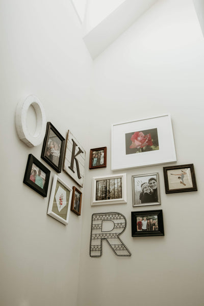 Photo wall: the details that make all the difference