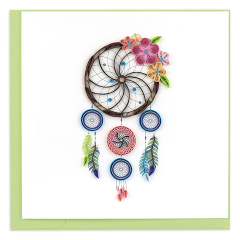 Quilled Dreamcatcher Greeting Card