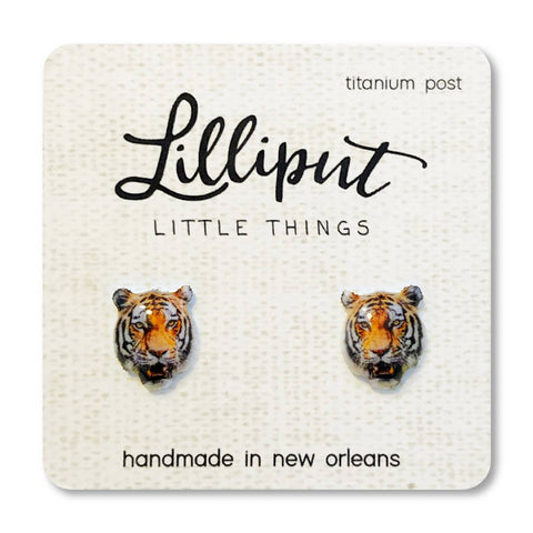 Geaux Tigers! Earrings