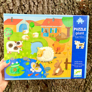 Animal Farm Tactile Puzzle