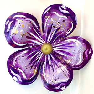 Small Purple Carnival Float Flower