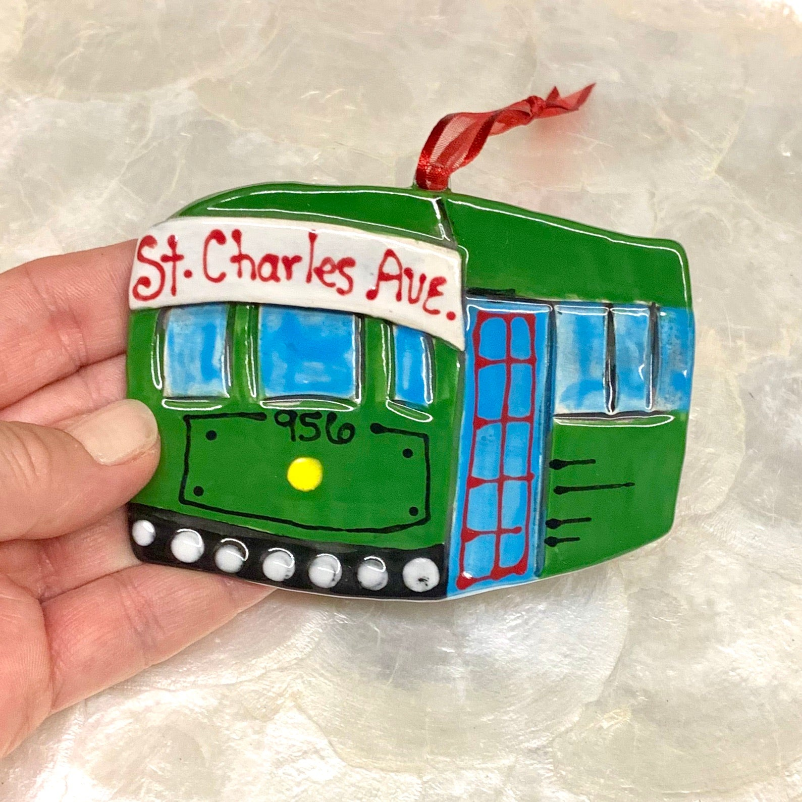 New Orleans Streetcar Ornament