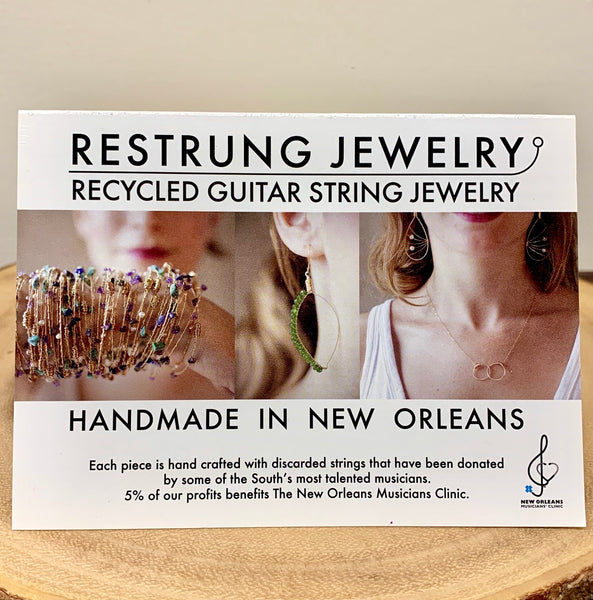 "ReStrung ""Skinny"" Earrings"