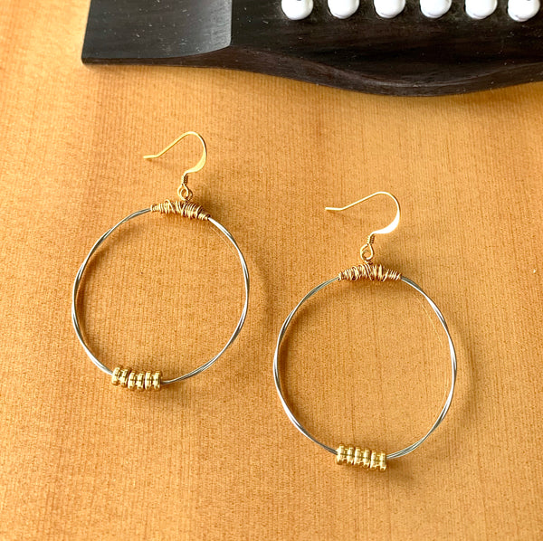"""Karma"" Hoop Earrings"