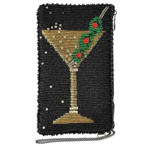 Martini Cell Phone Bag by Mary Frances