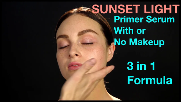 HOW-TO: SUNSET LIGHT Primer Serum Mixing Base by Veil Cosmetics