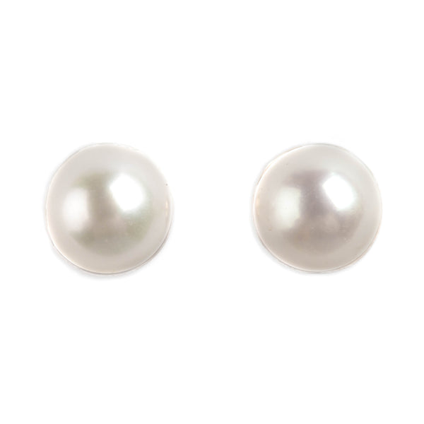 14K GOLD BABY EARRINGS WITH PEARL
