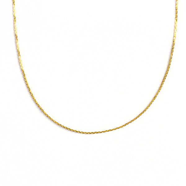 925 GOLD PLATED CHAIN