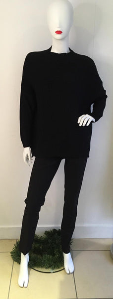 Super Soft Black Jumper