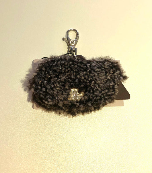 Sheepskin hedgehog Keyring