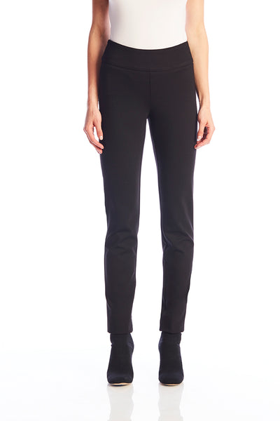 Black Pull On Trousers