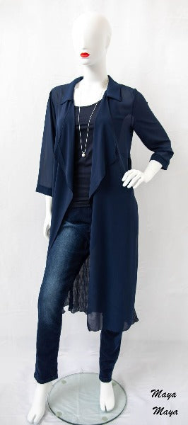 Waterfall Navy Cardi - Maya Maya Ltd
