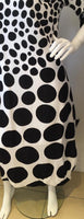 Black and White Spot Dress