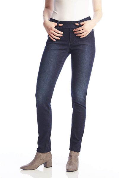 Slim Stretch Pull On Jeans - Maya Maya Ltd