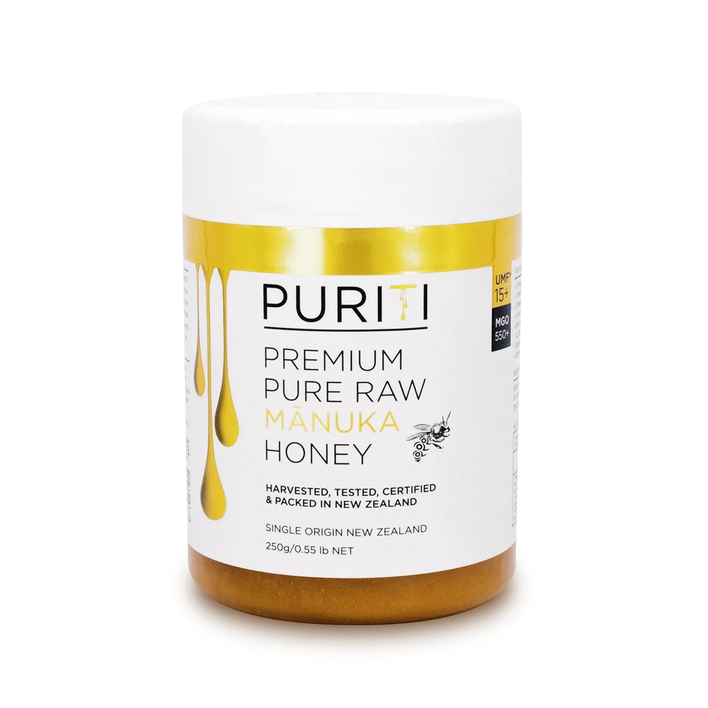 Puriti Manuka Honey UMF 15+ 250g
