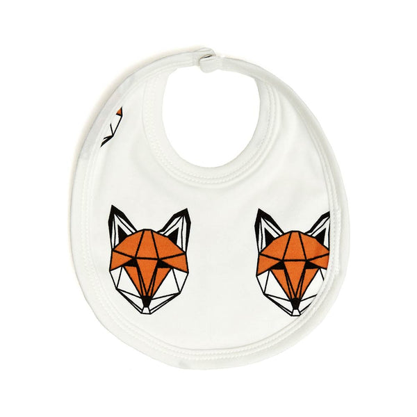 Just Call Me Fox bib