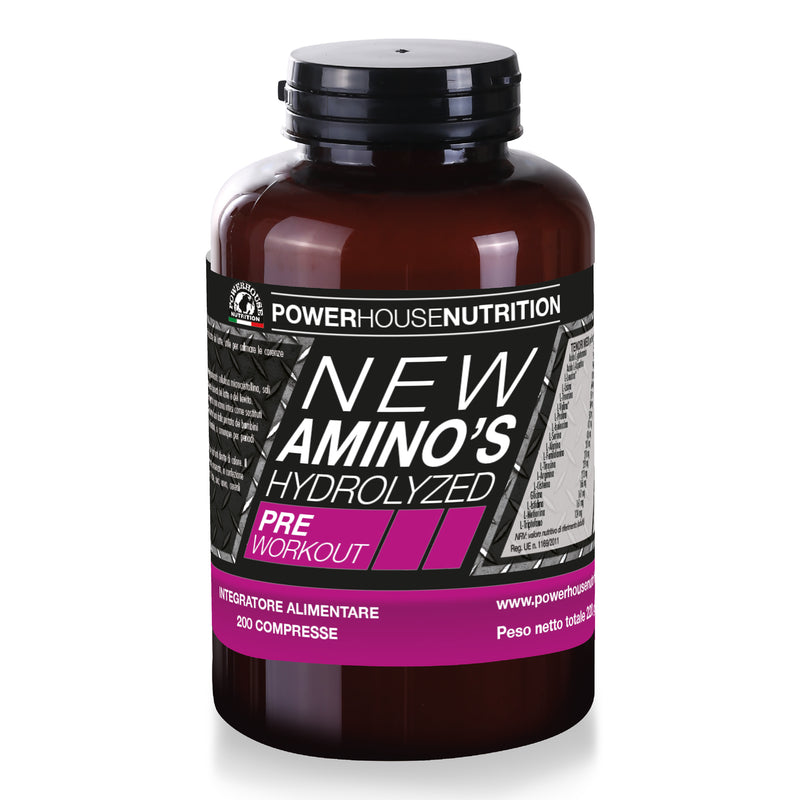 NEW AMINO'S HYDROLYZED PRE WORK-OUT 200cp