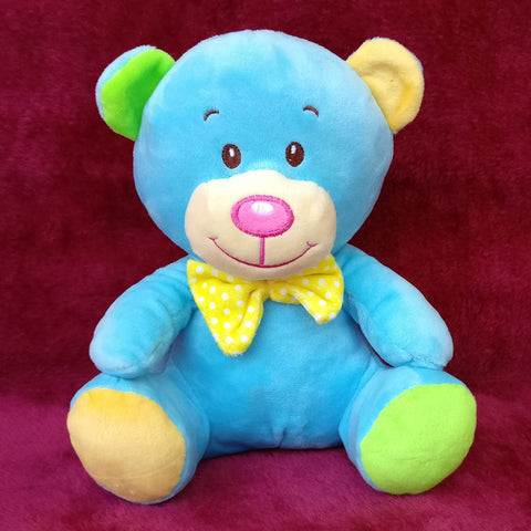 Cute Blue Mini Teddy 22 cm - Chirukaanuka