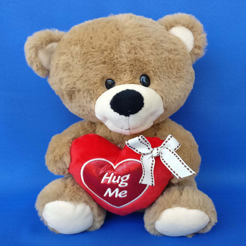 Bear With Hug Me Heart 26 cm - Chirukaanuka