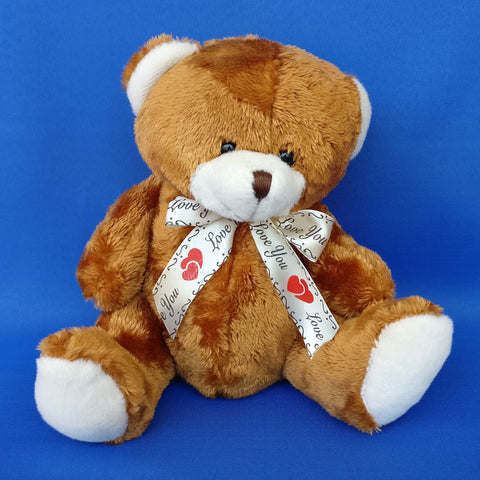 Plush Baby Bear Brown 20 cm - Chirukaanuka