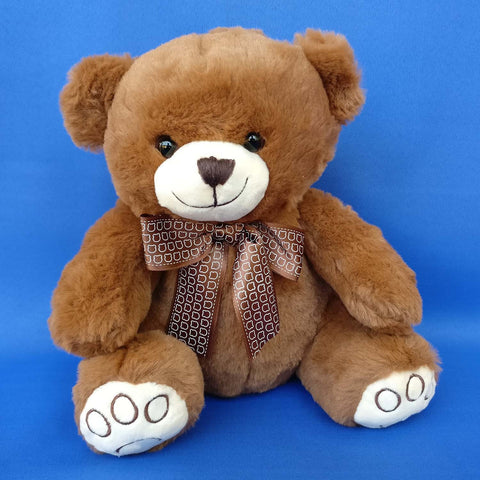 Wild Dark Brown Teddy 25 cm - Chirukaanuka