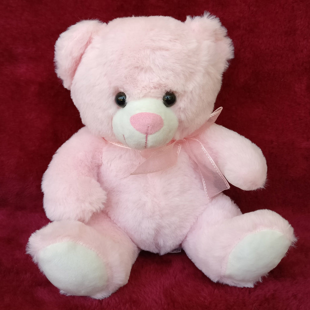 Lovable Soft Pink Bear 25 cm - Chirukaanuka