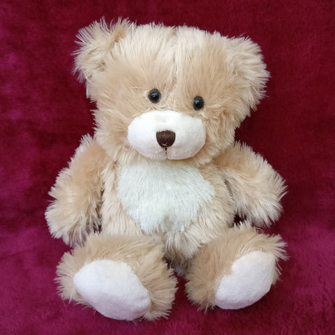 Soft Cream Plush Bear 38 cm - Chirukaanuka