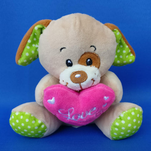 Small Pretty Soft Dog 14 cm - Chirukaanuka
