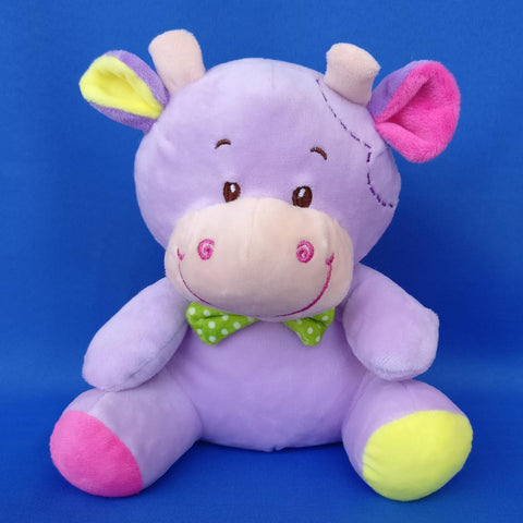 Soft Purple Cow Toy 20 cm - Chirukaanuka