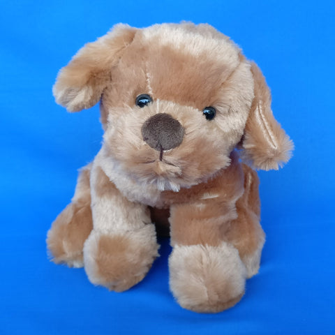 Soft Brown Dog Plush 23 cm - Chirukaanuka