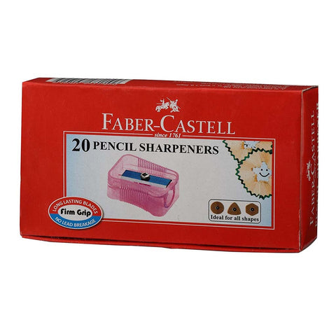 Faber-Castell Pencil Sharpner - Pack of 20