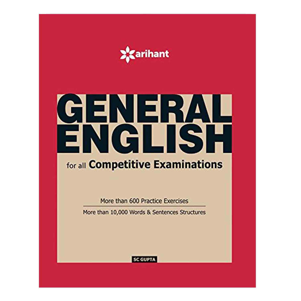 General English For All Competitive Examinations (English) Paperback - 2016 - Chirukaanuka