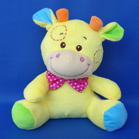 Giraffe Yellow Soft Toy 20 cm - Chirukaanuka