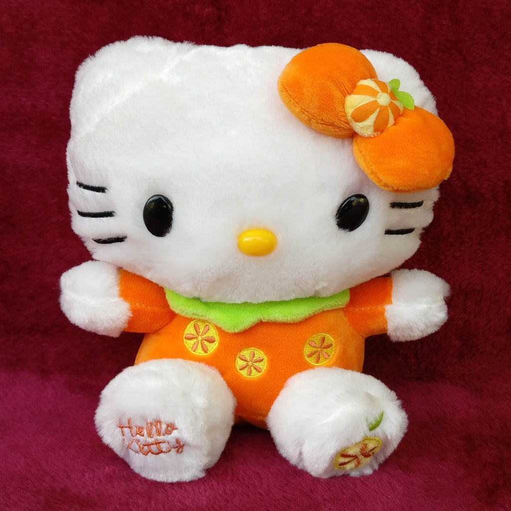 Hello Kitty Plush Orange 22 cm - Chirukaanuka