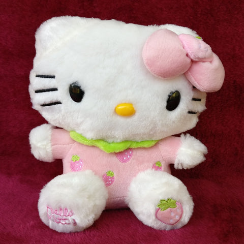 Hello Kitty Plush Strawberry 20 cm - Chirukaanuka