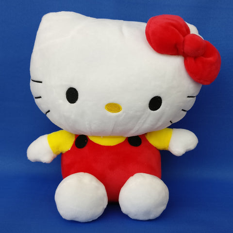 Hello Kitty Plush Toy Red 25 cm - Chirukaanuka
