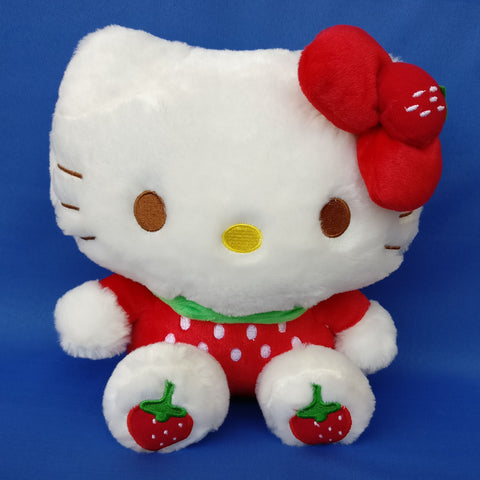 Hello Kitty Soft Strawberry Red 23 cm - Chirukaanuka