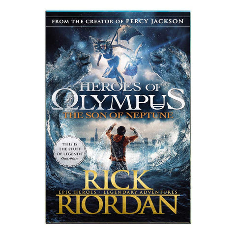 Heroes Of Olympus The Son Of Neptune (English)