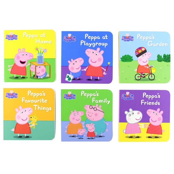 Peppa Pig: Little Library Board book - 2009 - Chirukaanuka