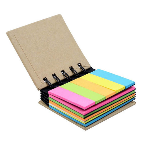 Pocket Size Spiral Sticky Note Pad