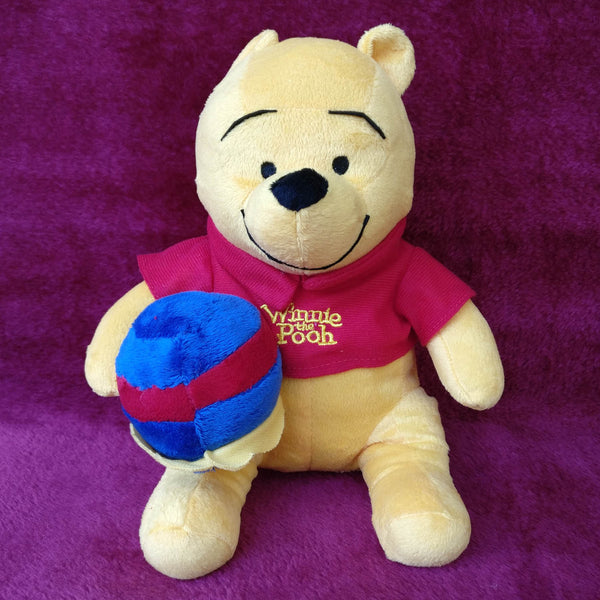 Winnie The Pooh With Honey Pot 25 cm - Chirukaanuka