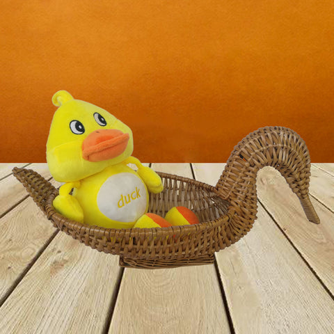 Soft Duck Plush Mini 12 Inch - Chirukaanuka