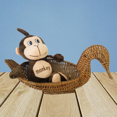 Soft Monkey Plush Mini 12 Inch - Chirukaanuka