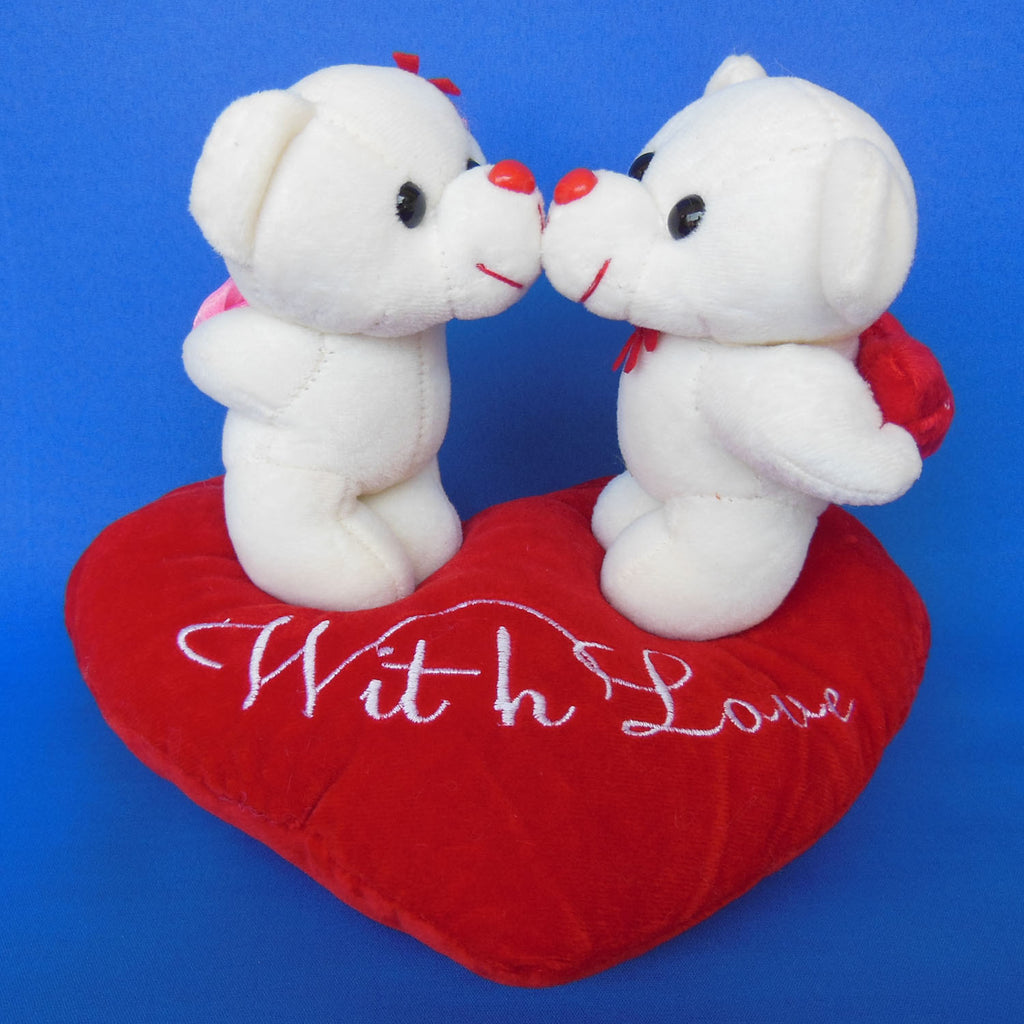 Kissing With Love Teddy Bears 19 cm - Chirukaanuka