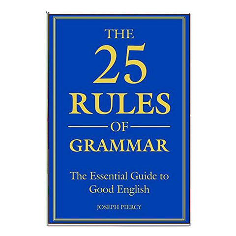 The 25 Rules Of Grammer (English)
