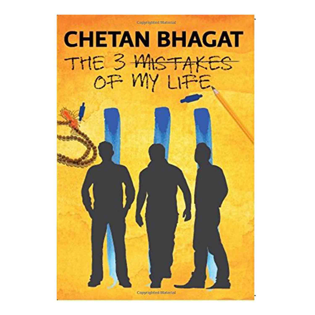 The 3 Mistakes of My Life (English) Paperback - 2014 - Chirukaanuka